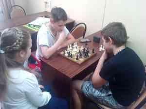 Шахматная гостинная