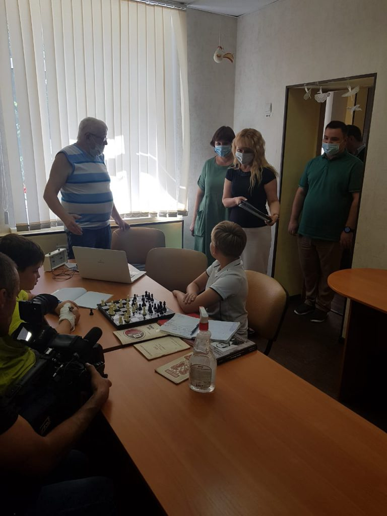 Визит Н.В. Макаревич в подростковый клуб Центра внешкольной работы