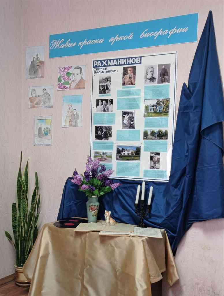 Открытие мини-музея С.В.Рахманинова