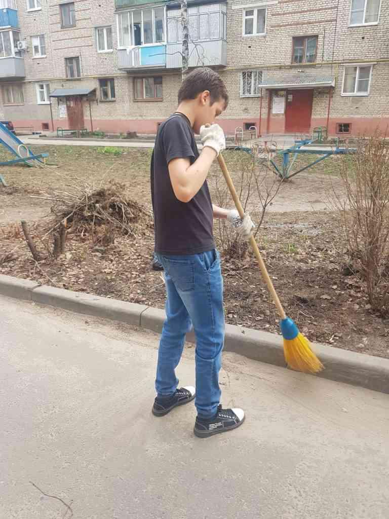 """Субботник в рамках акции """"Пусть всегда будет чисто"""""""